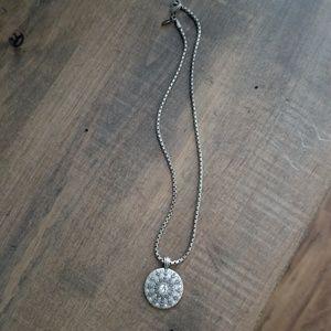 Bico silver necklace